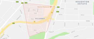 killarney dstv installer map